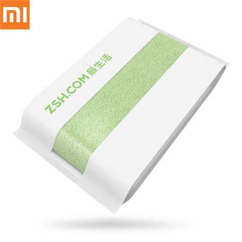 Original Xiaomi Zsh Bath Towel 100 Percent Cotton Towel xiaomi zsh cotton bath towel green