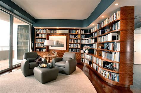 modern home library interior design cozy library types for your houses2014 interior design