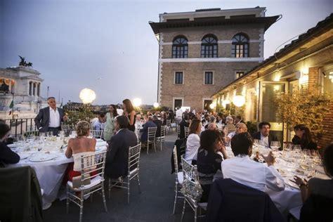 terrazza civita roma chef stellati e istituzioni alla terrazza civita