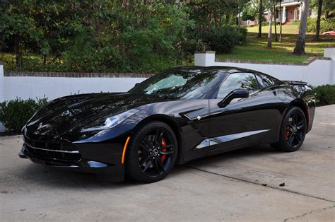 this is the black widows corvette stingray from captain chevrolet corvette stingray black widow autos post