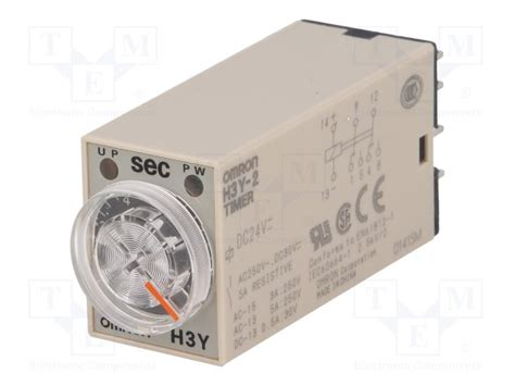 Timer Relay Omron H3y 2 By Wobble h3y 2 dc24 10s omron timer tme electronic components