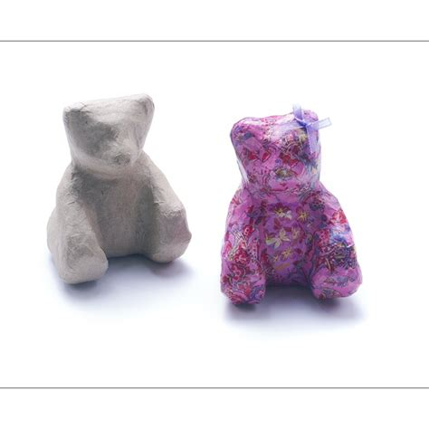How To Make Paper Teddy - paper mache teddy decopatch and paper mache from