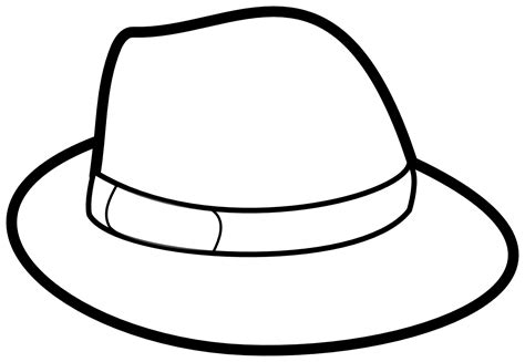 Coloring Pages Of Hats hat coloring pages 19