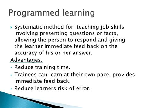 on the job training tools changing focus of training tools