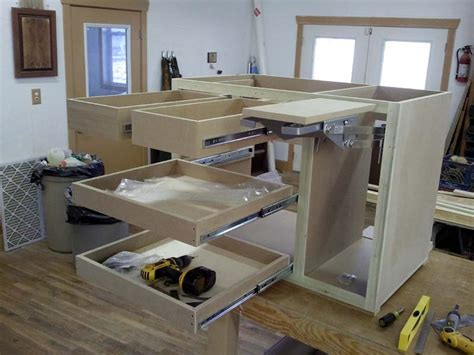 kitchen island construction fivebraids custom woodworking kitchen island