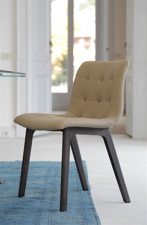 kuga chaise rembourr 233 e by bontempi casa