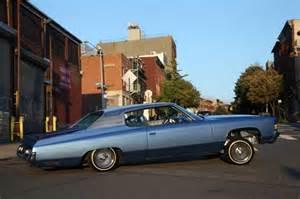 a 72 chevy impala that s la built for ny
