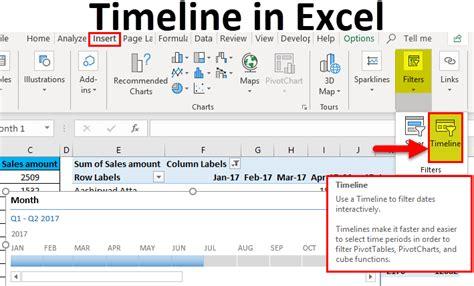 timeline  excel   create timeline  excel