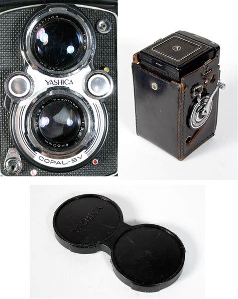 yashica mat 124 tlr w yashinon 80mm f 3 5 lens