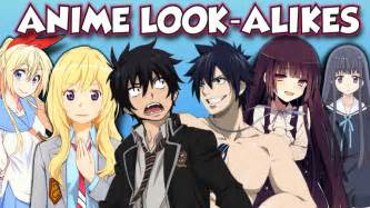 anime guessing guessing anime look alikes