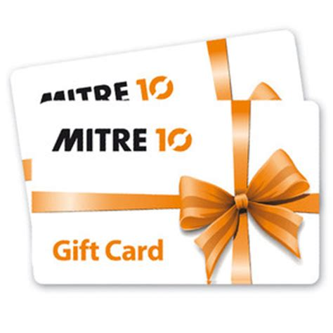 Hbc Gift Card Balance - gift cards mitre 10
