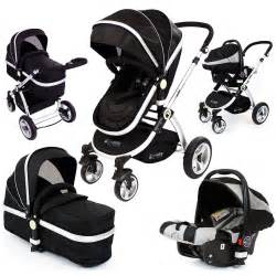 deluxe baby pram pushchair isafe luxury car seat travel