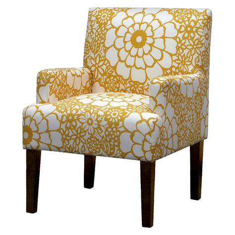 yellow patterned slipper chair how to update your home with yellow