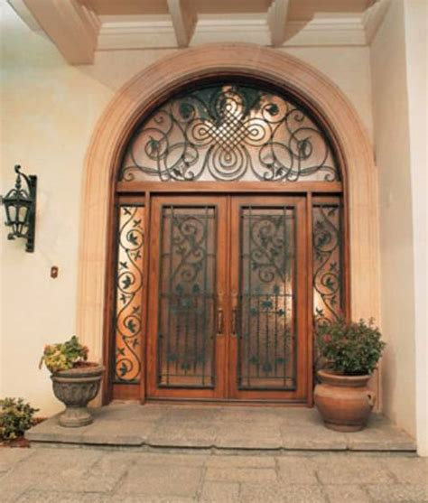Wrought Iron Exterior Door Doors Exterior Wrought Iron The Interior Design Inspiration Board