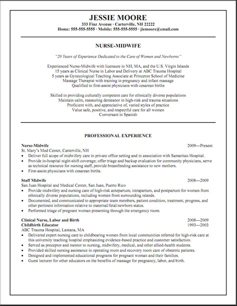 Resume Sles For Emergency Nurses Emergency Room Resume Templates Resume Templates
