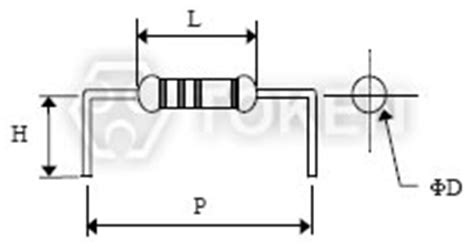 1 2 watt resistor footprint resistor lead forming and dimensions token components cutting edge service