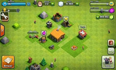 download mod game coc offline install manual game clash of clans coc 2015
