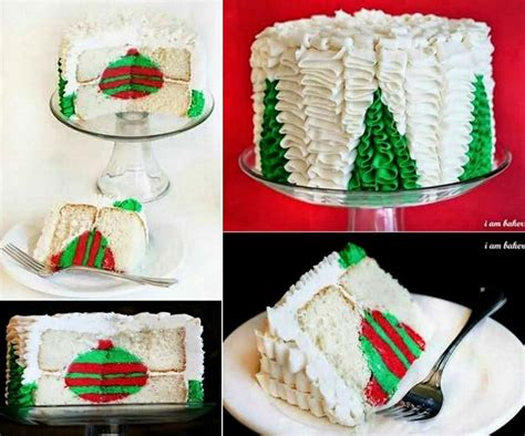 how to make a christmas tree cake pictures photos and