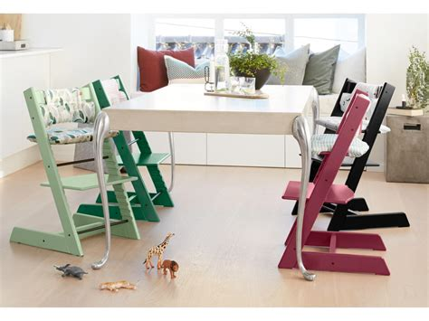 Chaise Tripp Trapp Stokke by Stokke Chaise Haute Tripp Trapp Vert Mousse