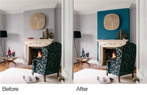 teal living room accents teal accent wall fireplace wall but use blue of chair