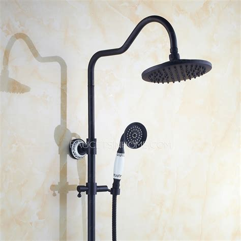 Shower Faucet System by Best Rubbed Bronze Ceramic Shower Faucet System