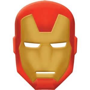Ironman Mask Template by Assemble Iron Mask Buycostumes