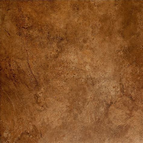 Classic 12 x 12 Mesa Rust Glazed Porcelain Floor Tile