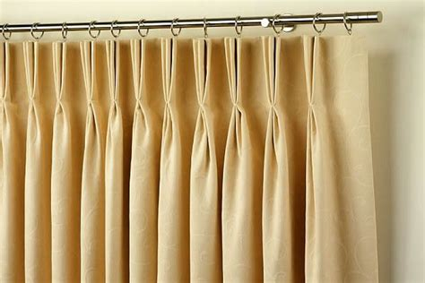 drapery pleats types traditional innovative drapery header styles