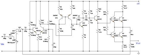 transistor lifier class a class a b d g h to t audio lifiers
