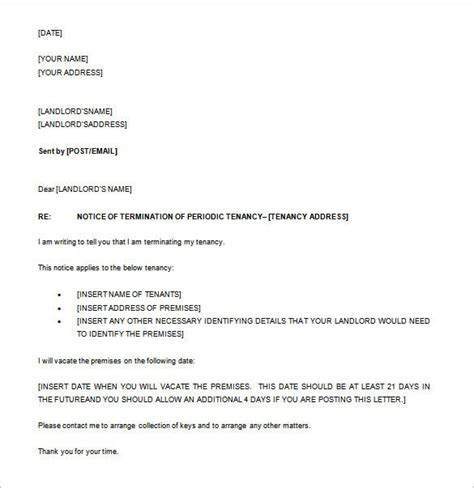 notice letter templates premium