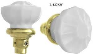 milk glass door knobs vintage hardware lighting