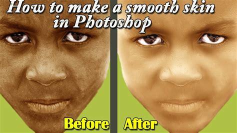 photoshop cs3 smooth skin tutorial photoshop tutorial how to make smooth skin in photoshop