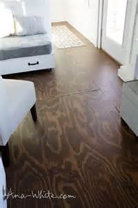 how to stain plywood floor subfloor flooring tiny