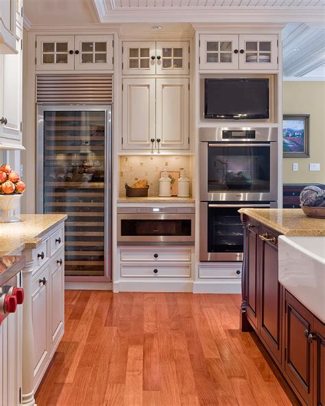 Houzz Kitchen Cabinets Houzz Kitchen Cabinets Kitchen Traditional With Cabinet Front Refrigerator 60 Wolf Range