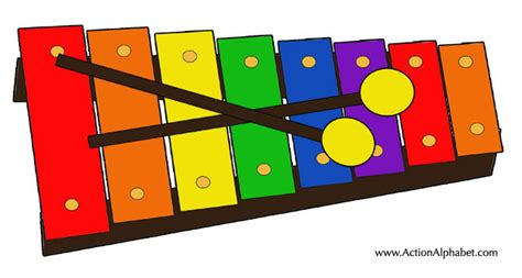 printable xylophone pictures alphabet crafts letter x