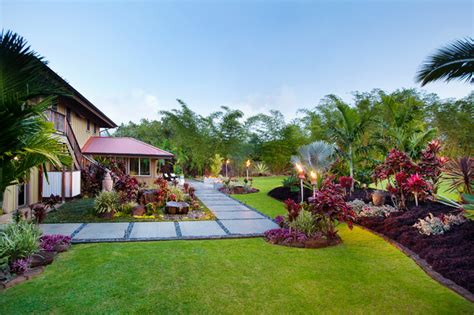 Landscape Architect Hawaii Lotus Ridge Tropical Landscape Hawaii By