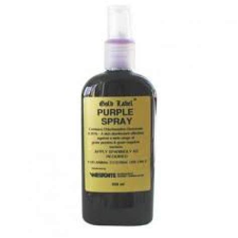 gold label purple spray disinfectant spray 250ml