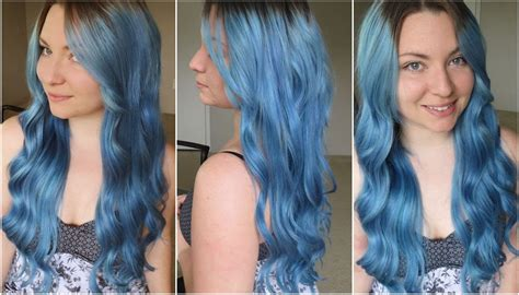 ion shark blue how i dyed my hair pale blue ion color brilliance shark