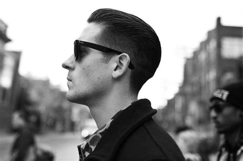 What Name Of The Haircut G Eazy Get | black on black with hair slicked back m g eazy