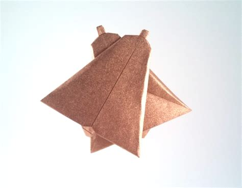 Origami Bell - bell toshie takahama gilad s origami page