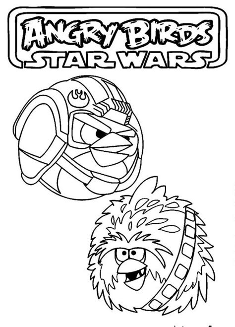 angry birds star wars coloring pages luke luke skywalker the red bird in angry birds star wars