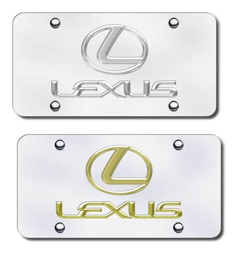 Lexus Vanity Plate lexus license plates special edition