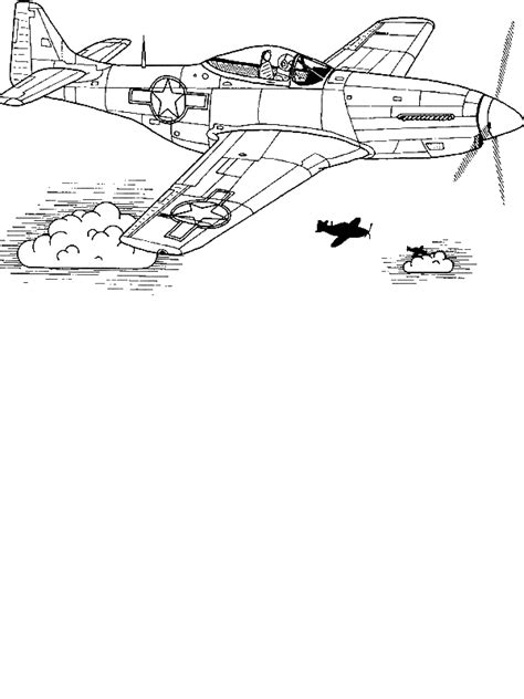 P 51 Mustang Coloring Pages by Free P 51 Mustang Coloring Pages