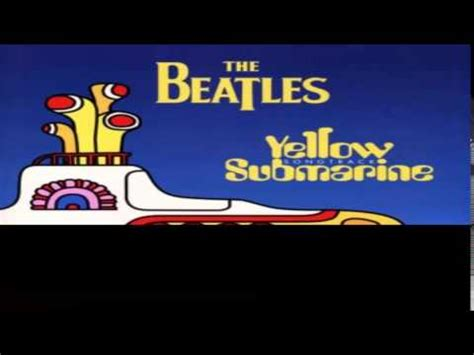 yellow submarine testo e traduzione yellow submarine the beatles significato della