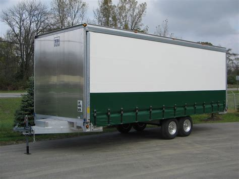 side curtain trailer curtainside specialty units options