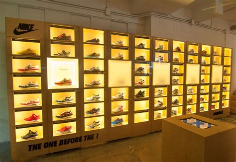 wall displays check out this awesome nike air max wall display