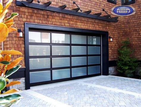 Aluminum Glass Garage Doors Northwest Door Modern Classic Cressy Door Fireplace