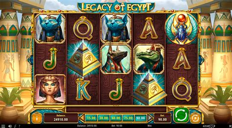 play legacy  egypt  slot play   casino slots