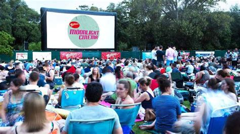 Moonlight Cinema Botanic Gardens Moonlight Cinema Adelaide