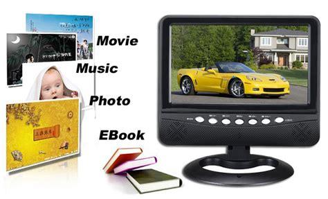 Monitor Kecil tv kecil murah sumber hiburan diperjalanan anda tokokomputer007